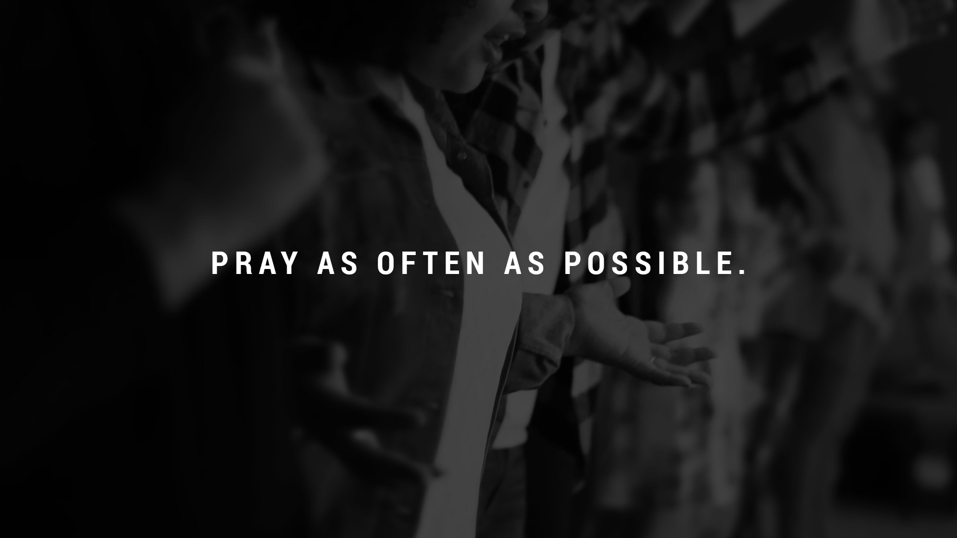 Praying Regularly