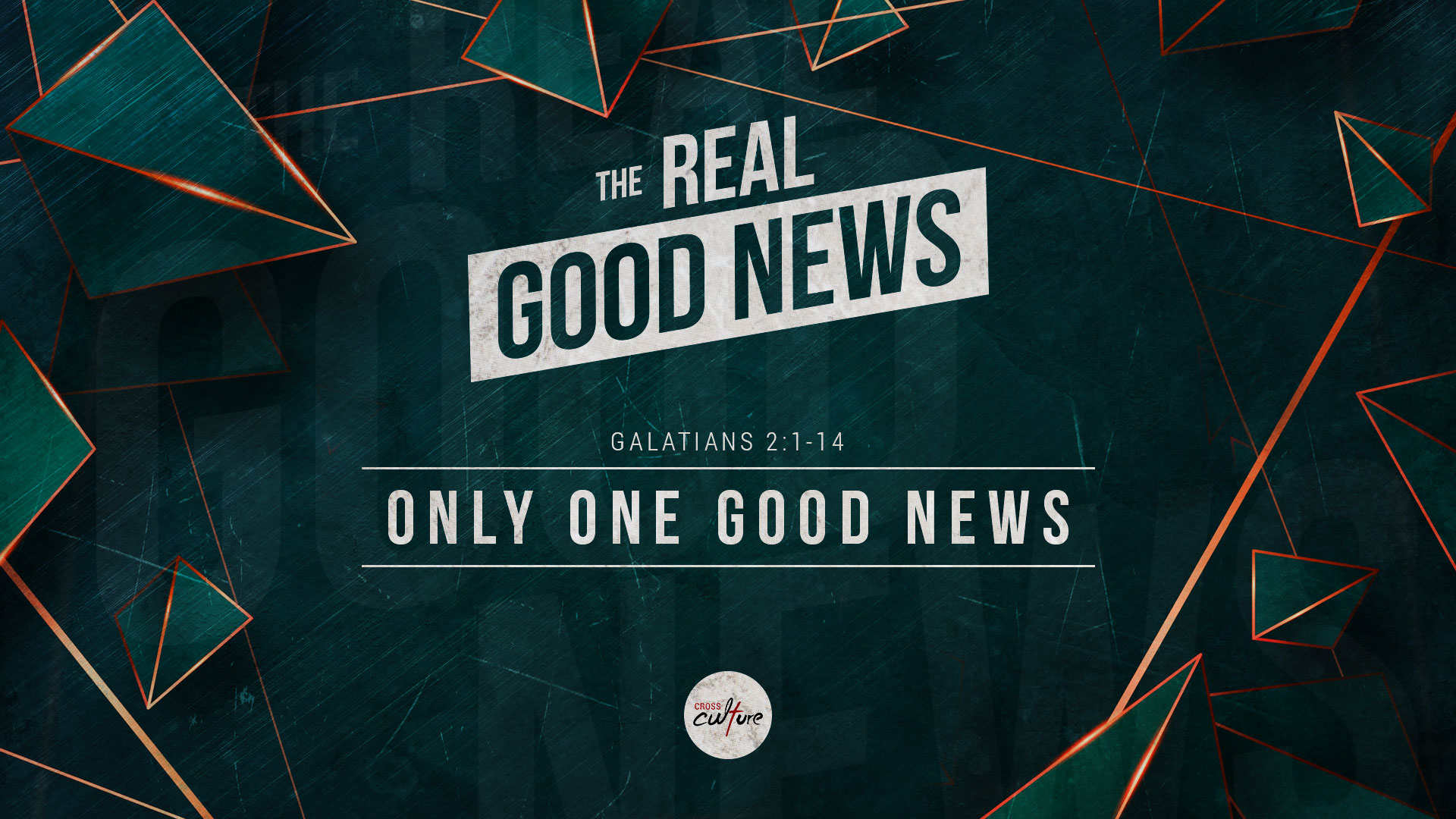 The Only Good News